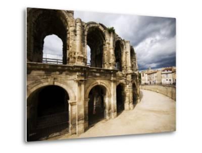 Roman Amphitheatre, Les Arenes-Glenn Beanland-Metal Print