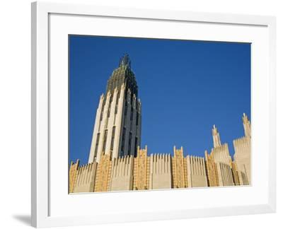 Boston Avenue Art Deco Church in Downtown-Richard Cummins-Framed Photographic Print