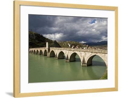 Mehmed Pasa Sokolovic Bridge over the Drina River-Patrick Horton-Framed Photographic Print