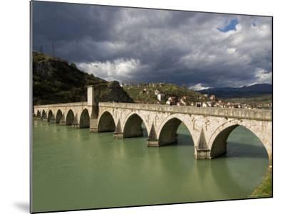 Mehmed Pasa Sokolovic Bridge over the Drina River-Patrick Horton-Mounted Photographic Print