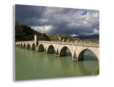 Mehmed Pasa Sokolovic Bridge over the Drina River-Patrick Horton-Metal Print