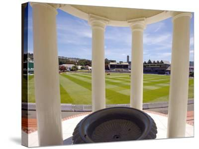 Basin Reserve Cricket Ground Which Houses the National Cricket Museum-Oliver Strewe-Stretched Canvas Print