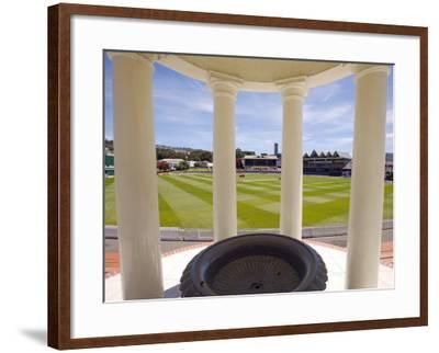 Basin Reserve Cricket Ground Which Houses the National Cricket Museum-Oliver Strewe-Framed Photographic Print