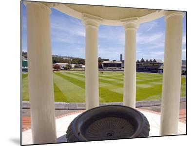 Basin Reserve Cricket Ground Which Houses the National Cricket Museum-Oliver Strewe-Mounted Photographic Print