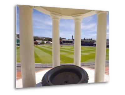 Basin Reserve Cricket Ground Which Houses the National Cricket Museum-Oliver Strewe-Metal Print