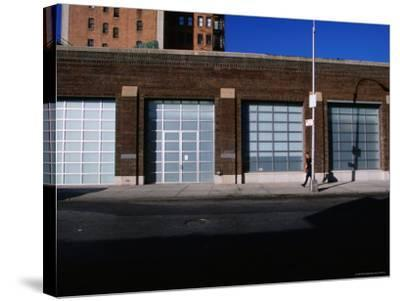 Facade and Entrance of the Gagosian Gallery in Soho-Angus Oborn-Stretched Canvas Print