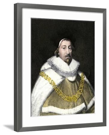 Edward Coke--Framed Giclee Print