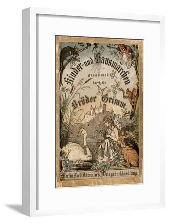 Cover of Brothers' Grimm Tales from a German Edition Published in Berlin, 1865--Framed Premium Giclee Print