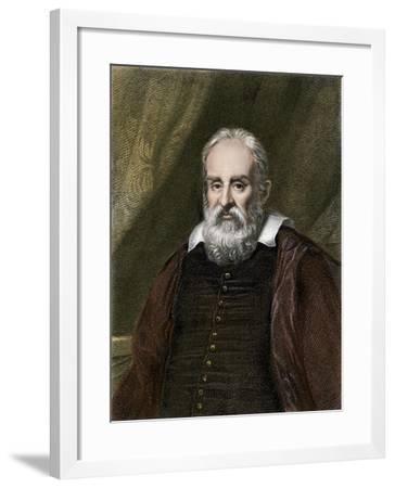 Galileo Galilei, Astronomer--Framed Giclee Print