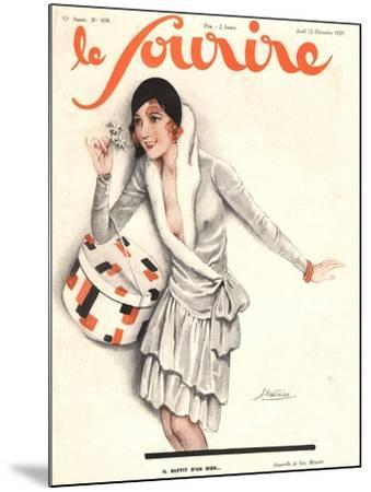 Le Sourire, Mistletoe Womens Magazine, France, 1929--Mounted Giclee Print