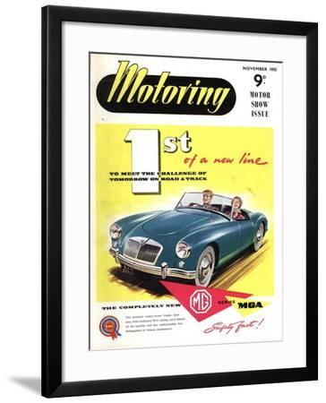 MG Convertibles, UK, 1950--Framed Giclee Print