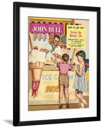 John Bull, Holiday Ice-Cream Magazine, UK, 1950--Framed Giclee Print