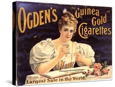Ogden's, Cigarettes Smoking Glamour, UK, 1900--Stretched Canvas Print