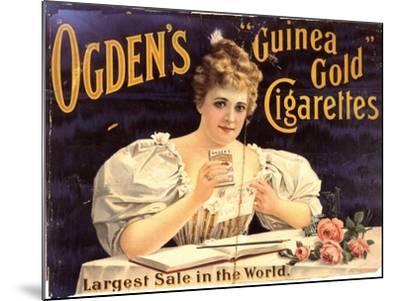 Ogden's, Cigarettes Smoking Glamour, UK, 1900--Mounted Giclee Print