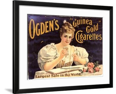 Ogden's, Cigarettes Smoking Glamour, UK, 1900--Framed Giclee Print