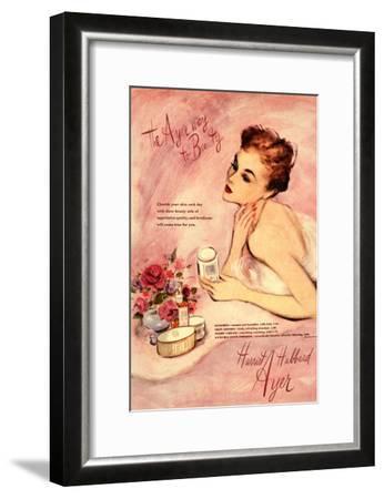 Make-Up Harriet Hubbard Ayer, UK, 1940--Framed Giclee Print