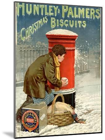 Huntley and Palmers, Biscuits Post Boxes, Snowballs, UK, 1890--Mounted Giclee Print