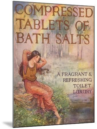 Bath Salts, UK, 1920--Mounted Giclee Print