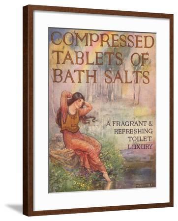 Bath Salts, UK, 1920--Framed Giclee Print