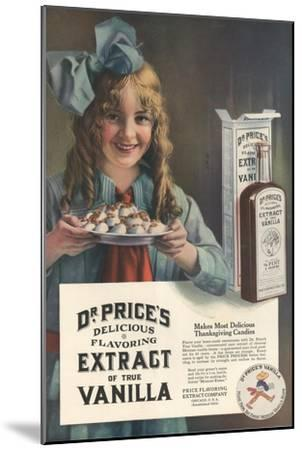 Dr Price's extract of Vanilla, USA, 1914--Mounted Giclee Print