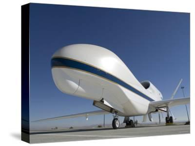 Global Hawk Unmanned Aircraft-Stocktrek Images-Stretched Canvas Print