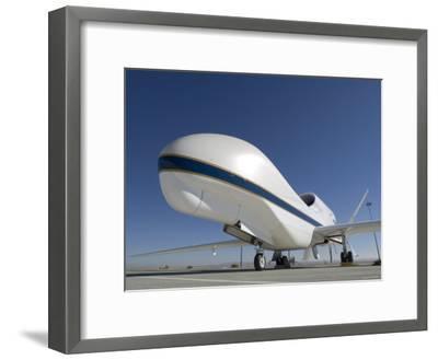 Global Hawk Unmanned Aircraft-Stocktrek Images-Framed Photographic Print