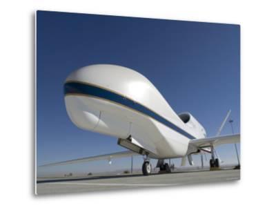 Global Hawk Unmanned Aircraft-Stocktrek Images-Metal Print