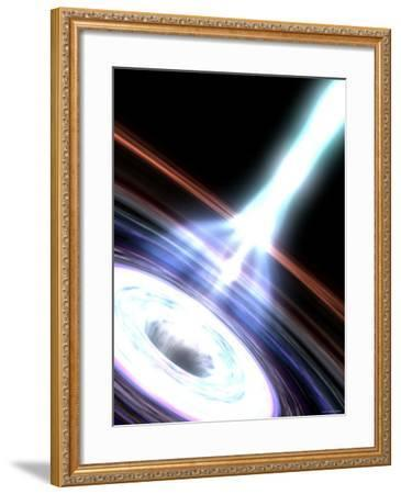 Gamma Rays in Galactic Nuclei-Stocktrek Images-Framed Photographic Print