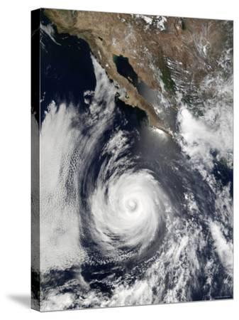 Hurricane Douglas-Stocktrek Images-Stretched Canvas Print