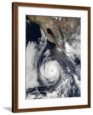 Hurricane Douglas-Stocktrek Images-Framed Photographic Print
