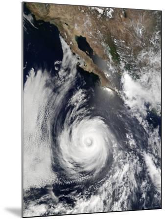 Hurricane Douglas-Stocktrek Images-Mounted Photographic Print