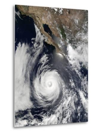 Hurricane Douglas-Stocktrek Images-Metal Print