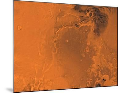Lanae Palus Region of Mars-Stocktrek Images-Mounted Photographic Print