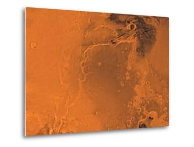 Lanae Palus Region of Mars-Stocktrek Images-Metal Print