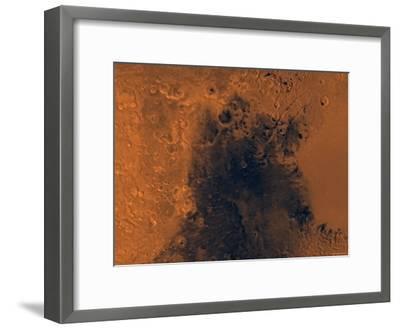 Syrtis Major Region of Mars-Stocktrek Images-Framed Photographic Print