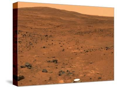 Partial Seminole Panorama of Mars-Stocktrek Images-Stretched Canvas Print