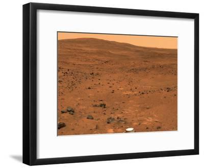 Partial Seminole Panorama of Mars-Stocktrek Images-Framed Photographic Print