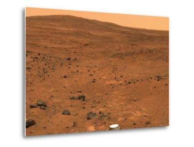 Partial Seminole Panorama of Mars-Stocktrek Images-Metal Print