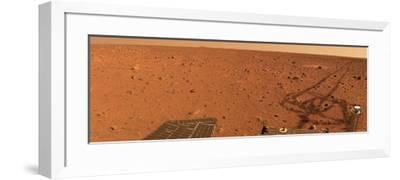 Panoramic View of Mars-Stocktrek Images-Framed Photographic Print