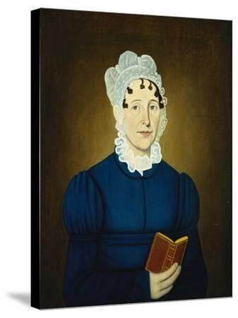 Sarah Treadwell Perley, 1825-John Brewster-Stretched Canvas Print