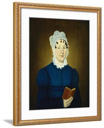 Sarah Treadwell Perley, 1825-John Brewster-Framed Giclee Print