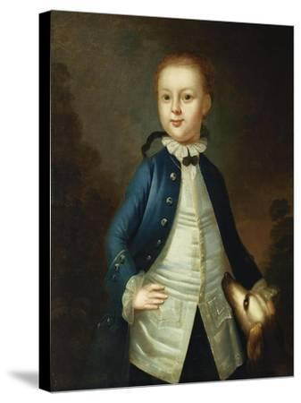 Portrait of Thomas Ritchie, c.1765-John Wollaston-Stretched Canvas Print