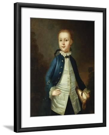 Portrait of Thomas Ritchie, c.1765-John Wollaston-Framed Giclee Print