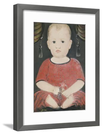 Portrait of Baby Woods, c.1840-William Matthew Prior-Framed Giclee Print