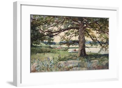 Pelham Bay Park, NYC, 1884-Harry Fenn-Framed Giclee Print