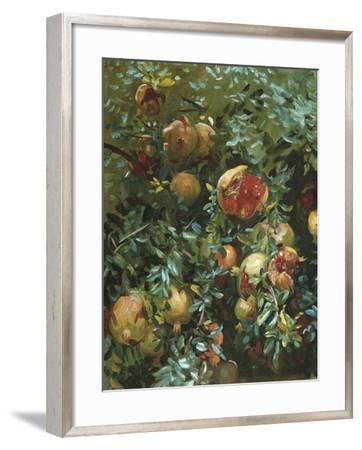 Pomegranates, Majorca-John Singer Sargent-Framed Giclee Print