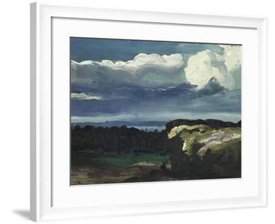 Woodstock Landscape-George Wesley Bellows-Framed Giclee Print