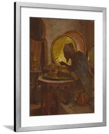 The Moroccan Engraver-Gordon Coutts-Framed Giclee Print
