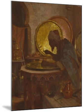The Moroccan Engraver-Gordon Coutts-Mounted Giclee Print