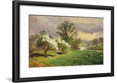 Apple Blossom Time, 1889-Jasper Francis Cropsey-Framed Giclee Print